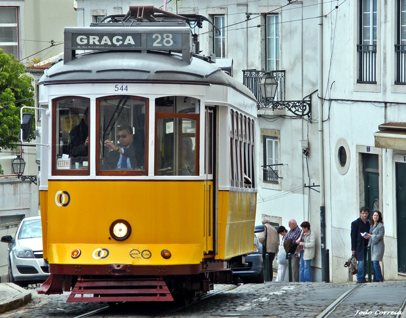 Photo of Davide Cali wrote a passionate story about an electric in Lisbon