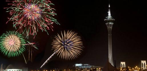 Photo of Portuguese company participates in Macau's largest fireworks contest