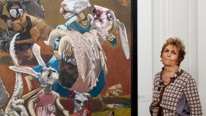 "Photo of Paula Rego's work ""The Treasure Island"" sold for 200 thousand euros at auction"