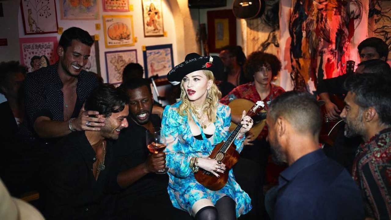Photo of Portuguese model shoots with Madonna for Vogue Italy