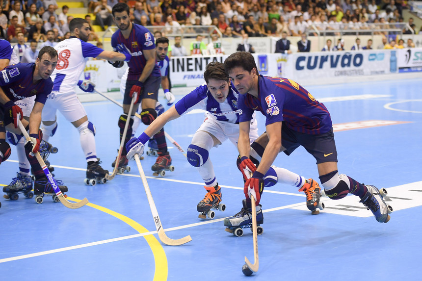 Photo of Barcelona beat FC Porto and win the Continental roller skating Hockey Cup