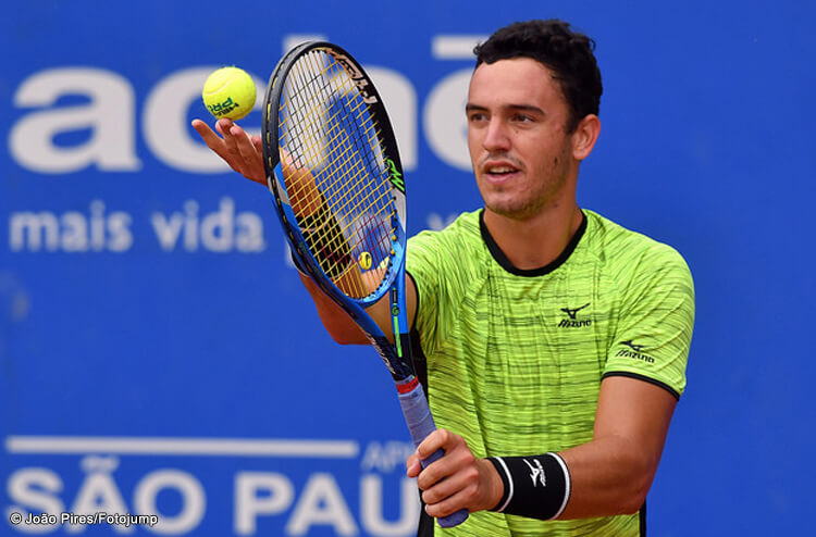 Photo of Gonçalo Oliveira in the second round of the 'challenger' in Istanbul