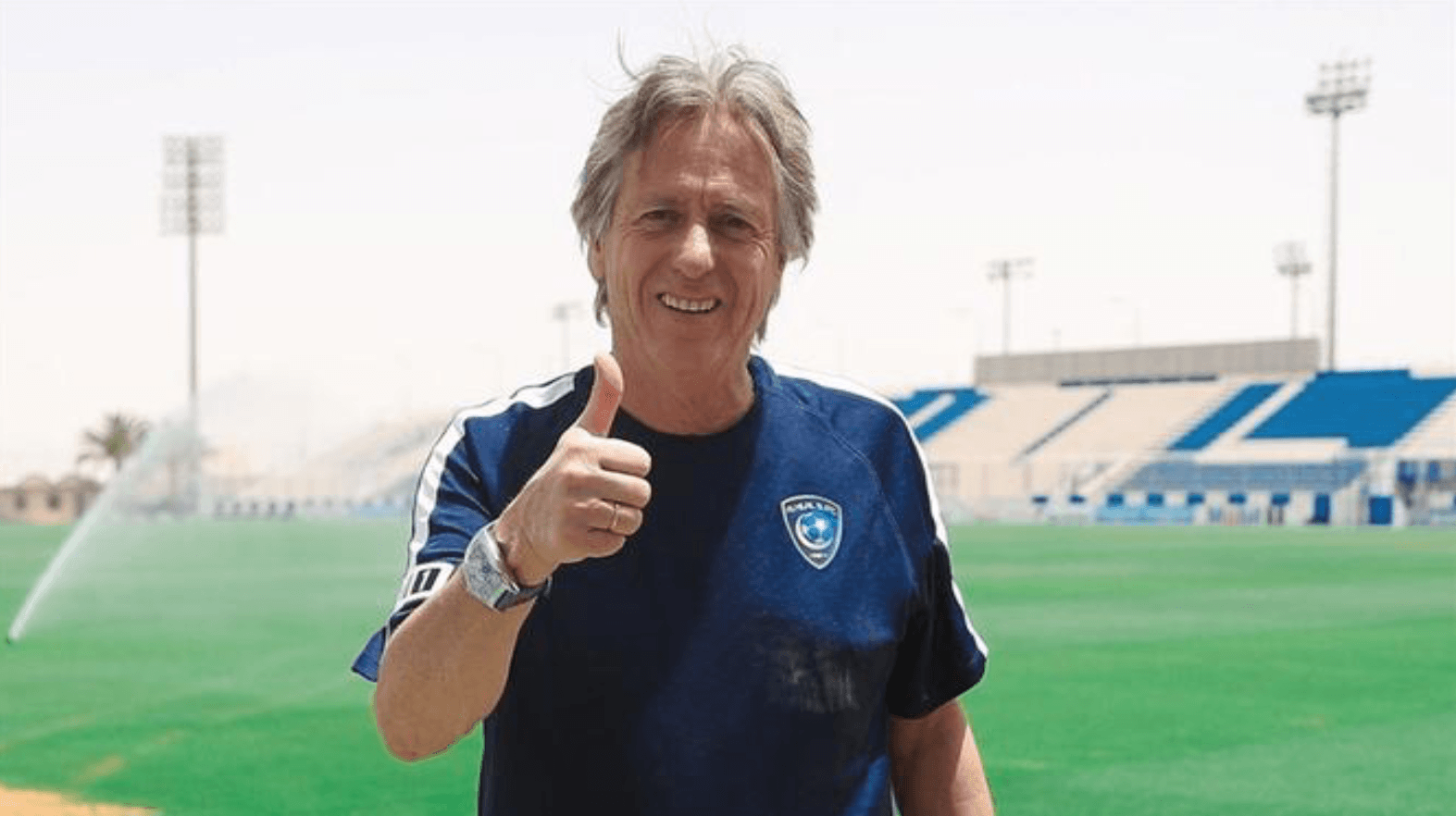 Photo of Jorge Jesus thrilled on the bench with Al Hilal's third triumph