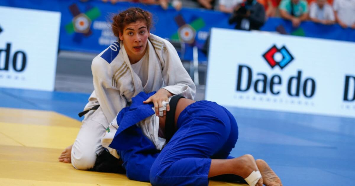 Photo of Patrícia Sampaio is European Junior Champion