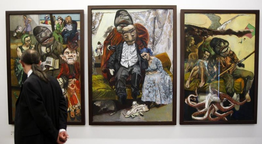 Photo of 'The Cruel Tales of Paula Rego' at the Museum of l'Orangerie in Paris