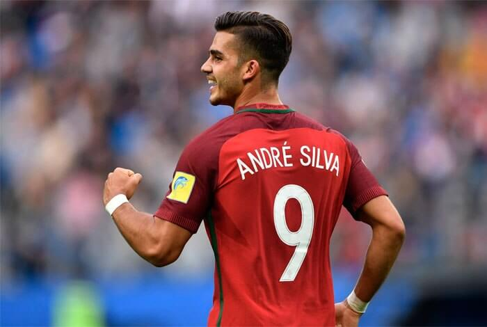 Photo of André Silva scored the 13th for Portugal and equaled three historical