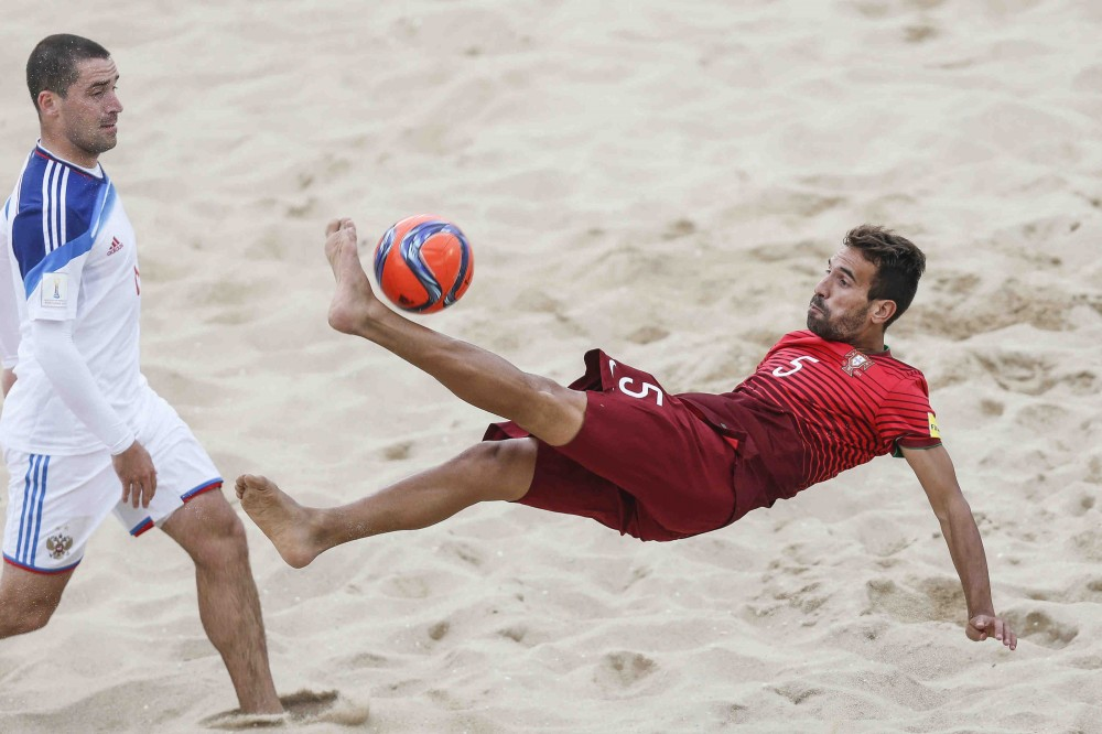 Photo of Luso beach soccer debut with 7-4 victory over Switzerland