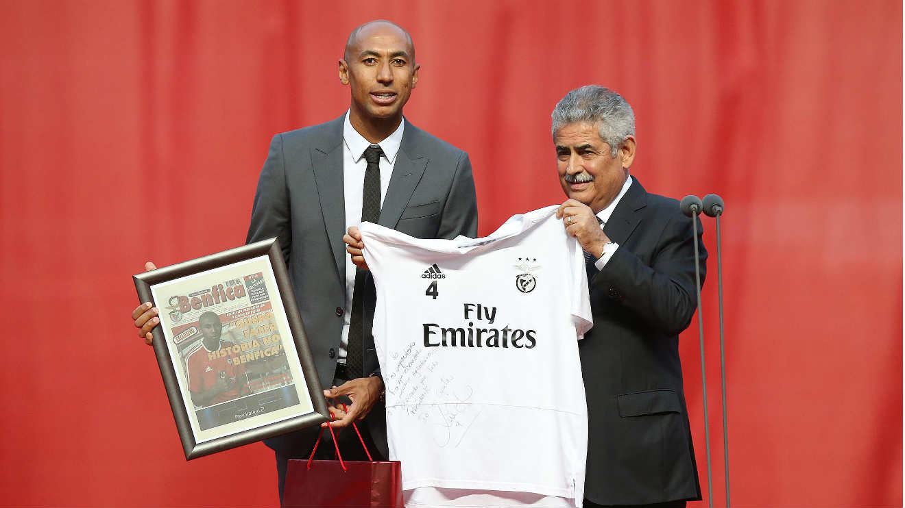 "Photo of Luisão ended his career: ""Thank you, Benfica"""