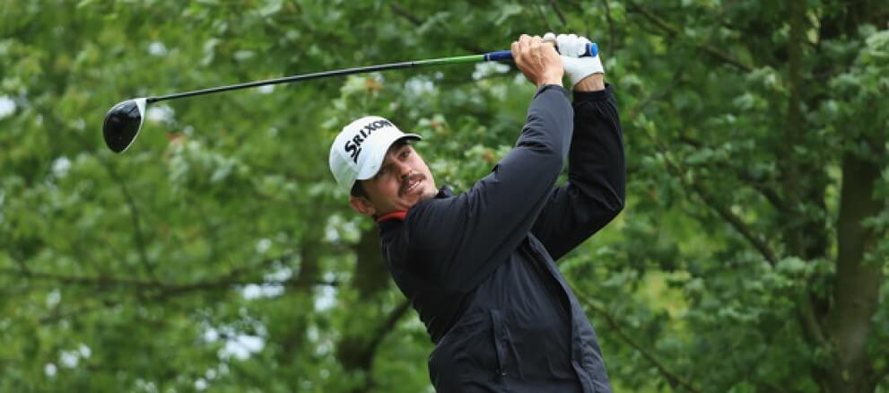 Photo of Pedro Figueiredo in seventh place at the Kazakhstan Open in golf