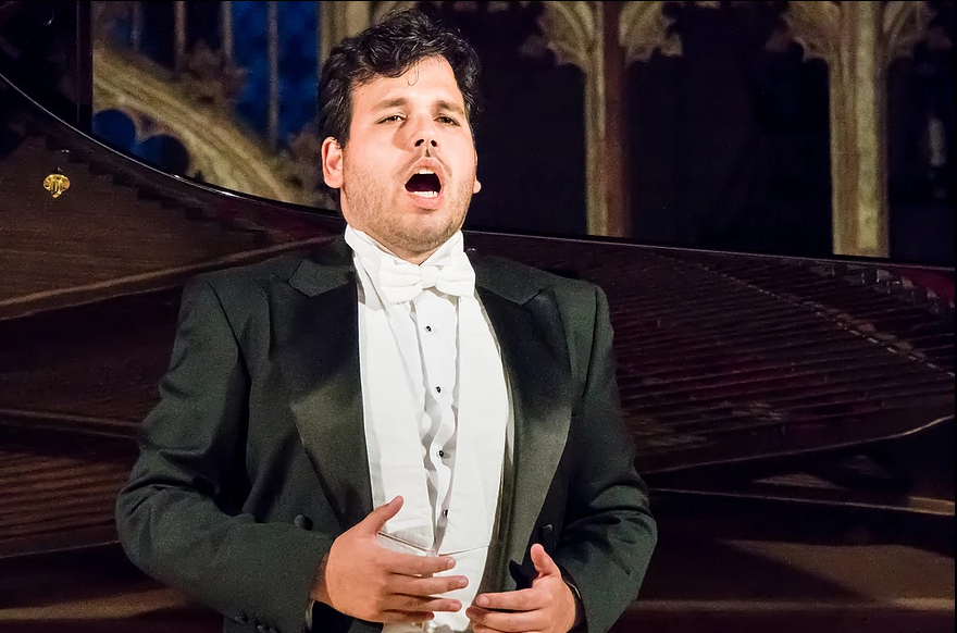 Photo of Tenor Luís Gomes selected for the Cardiff World Singing Contest