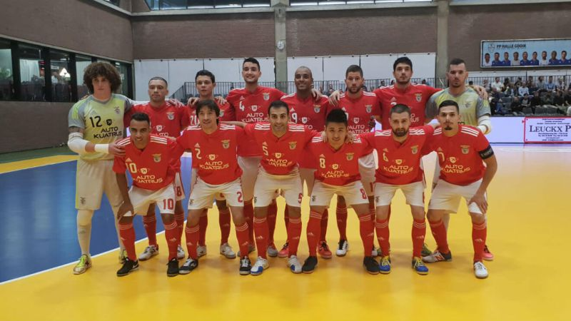 Photo of Benfica draw with Barcelona in the Futsal Champions League