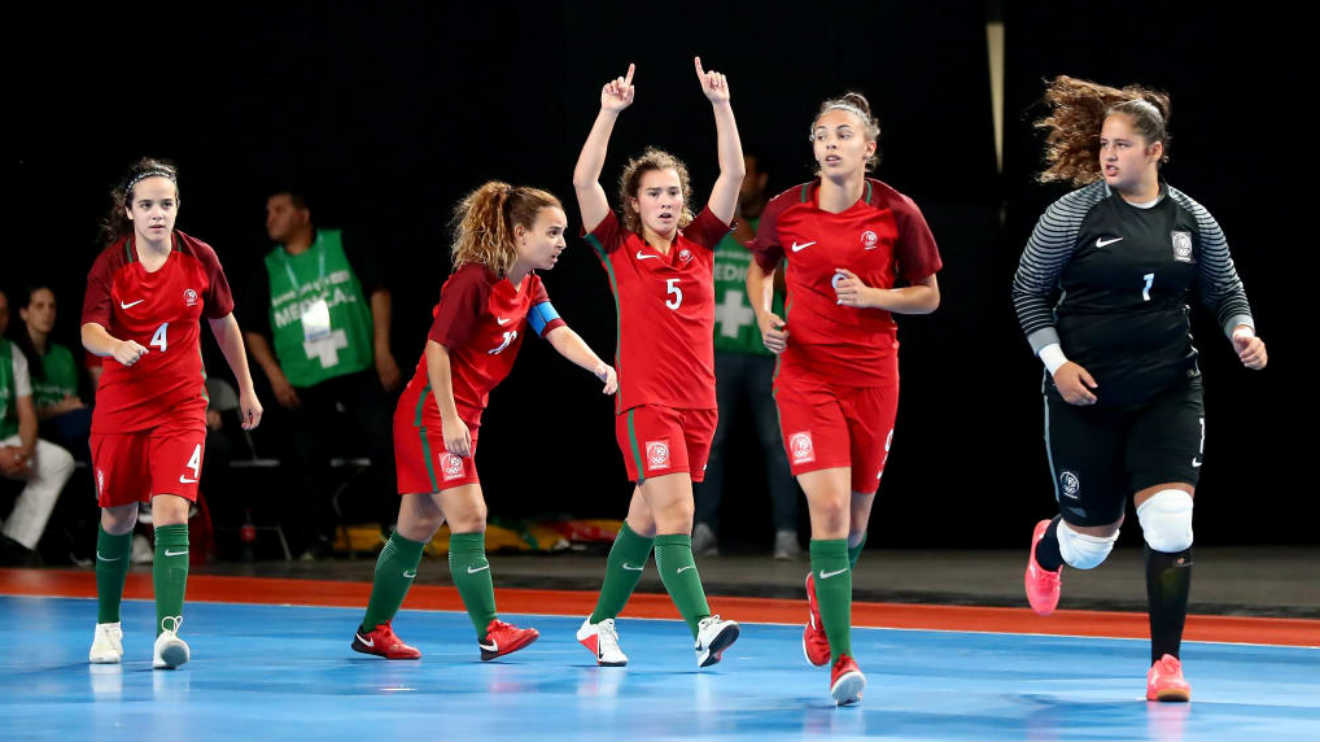 Photo of Portugal won the gold in the Youth Olympic Games