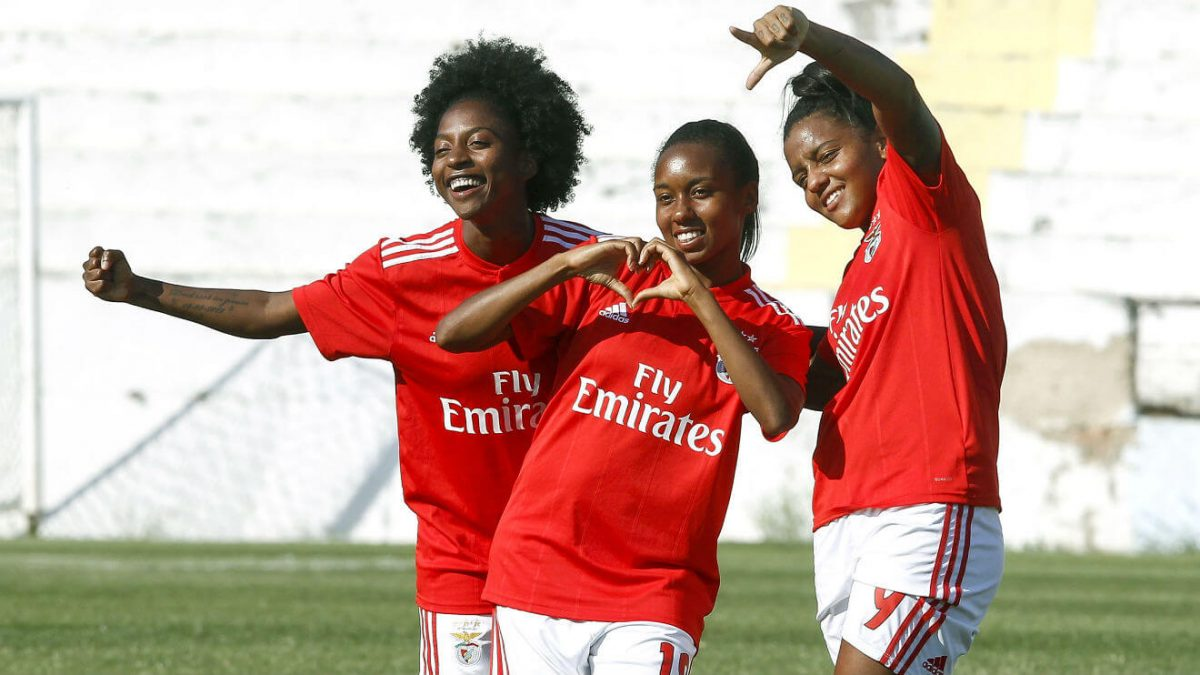 Photo of Benfica gives 16-0 to Ouriense and is in the socks of the Women's Cup