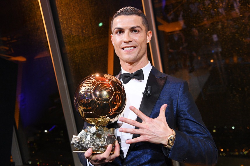 Photo of Cristiano Ronaldo Candidate for the Ballon d'Or