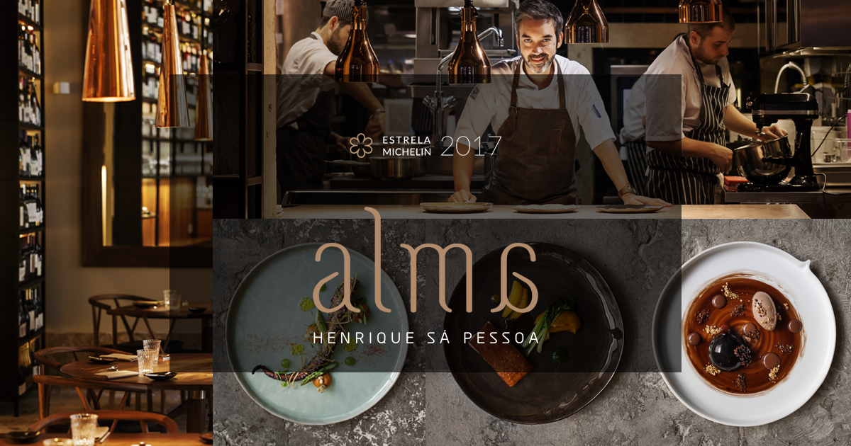 Photo of Restaurante Alma, by Henrique Sá Pessoa, receives second Michelin star
