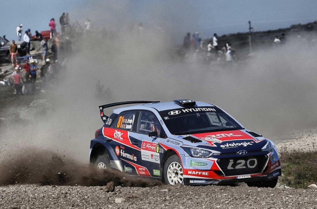 Photo of Armindo Araújo is the first national rally champion