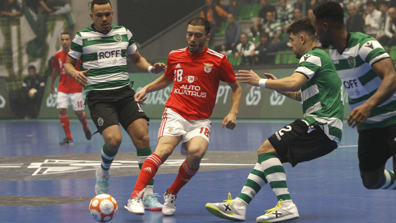 Photo of Draw with Benfica puts Sporting in the 'final four' of futsal Champions