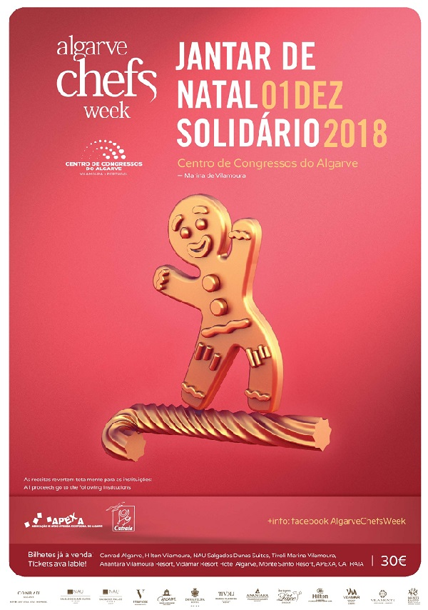 Photo of Algarve Chefs Week's Solidarity Version takes place on December 1