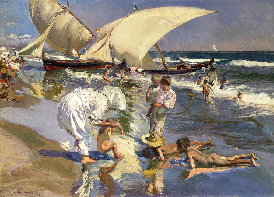 Photo of Exhibition of Joaquín Sorolla with 118 works opens today in Lisbon