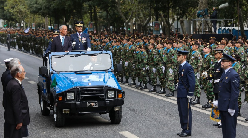 Photo of Military parade in Lisbon marks 100 years of the end of World War I