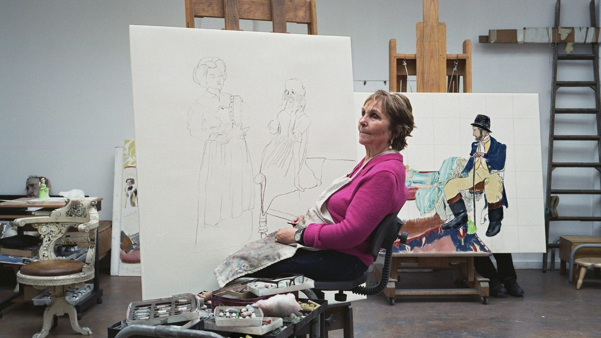 "Photo of Paula Rego's exhibition is ""first step"" to show in France"