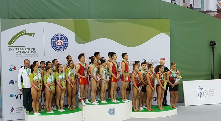 Photo of Portugal runner-up of the world in the complete competition of trampolines