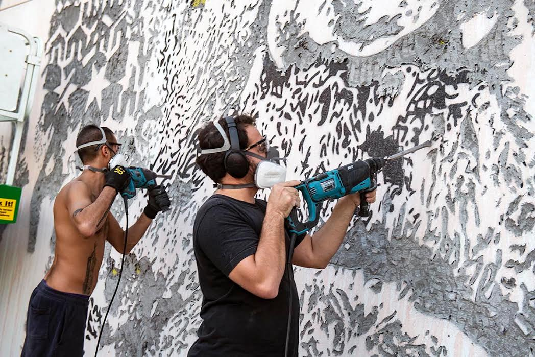 Photo of Vhils opens 'Ethereal' exhibition in Miami