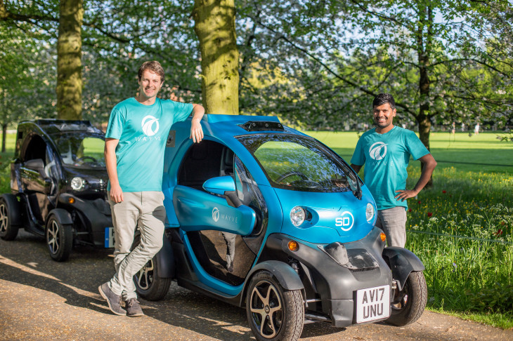 Photo of English startup that created a program for autonomous cars wins the contest