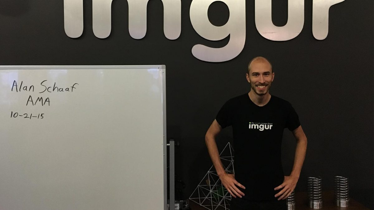 Photo of Imgur, the app that wants to make the netizens happier