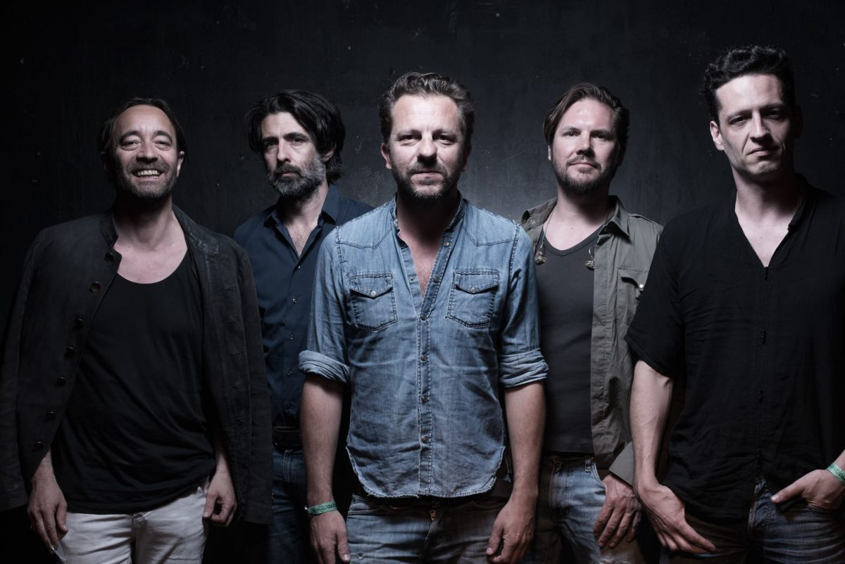 Photo of dEUS return to Portugal