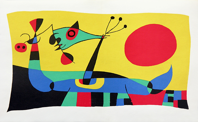 Photo of New exhibition with works Joan Miró inaugurated in Serralves