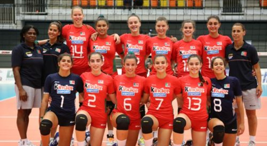 Photo of Portuguese volleyball team faces Slovenia, Greece and Estonia