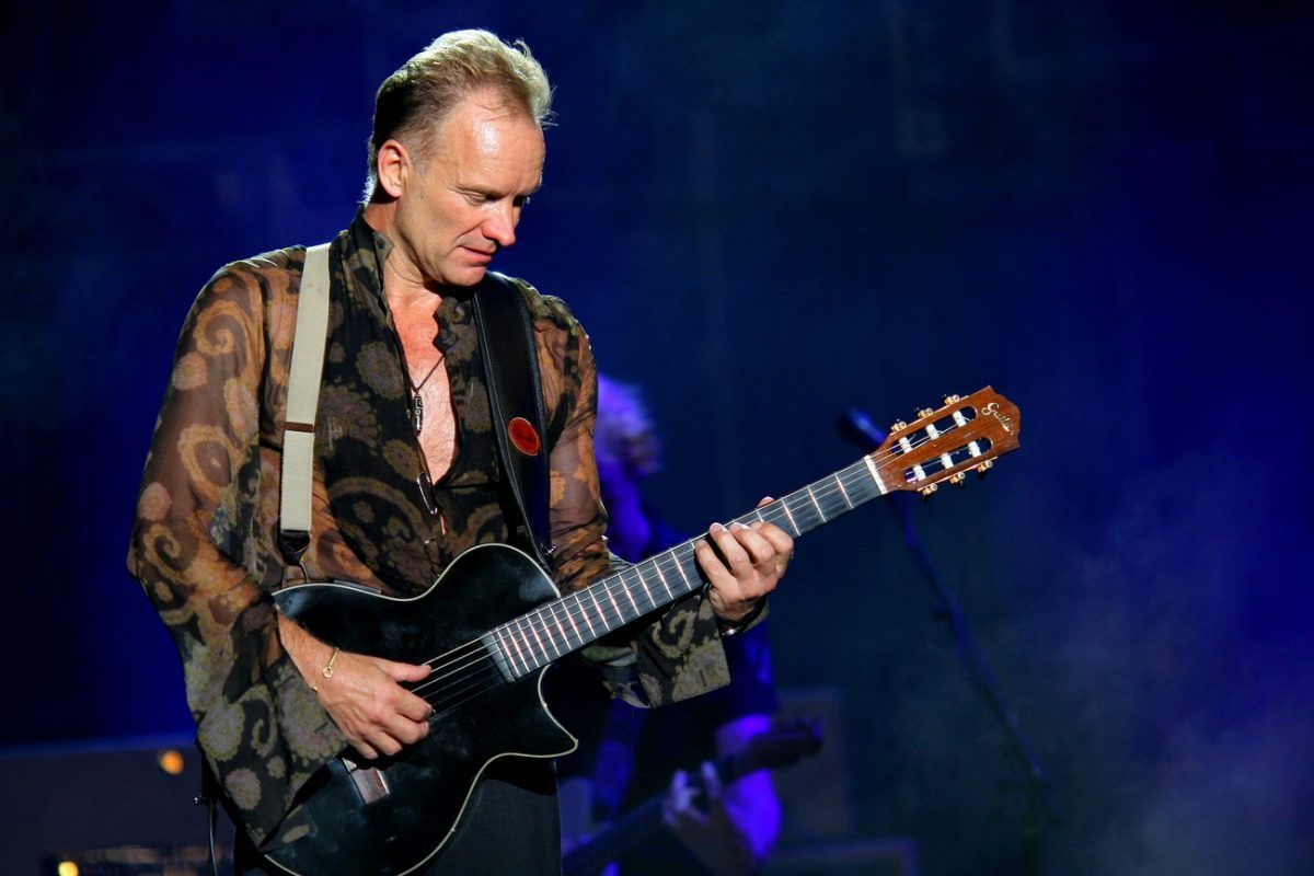 Photo of Sting is the first confirmation of the Marés Vivas Festival in 2019