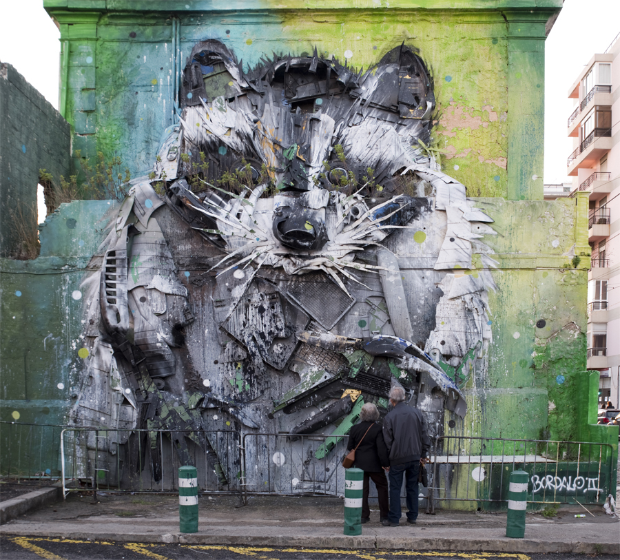 Photo of Big Trash Animals from Bordalo II