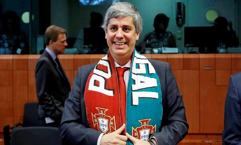 Photo of Centeno elected Finance Minister of the Year by The Banker publication
