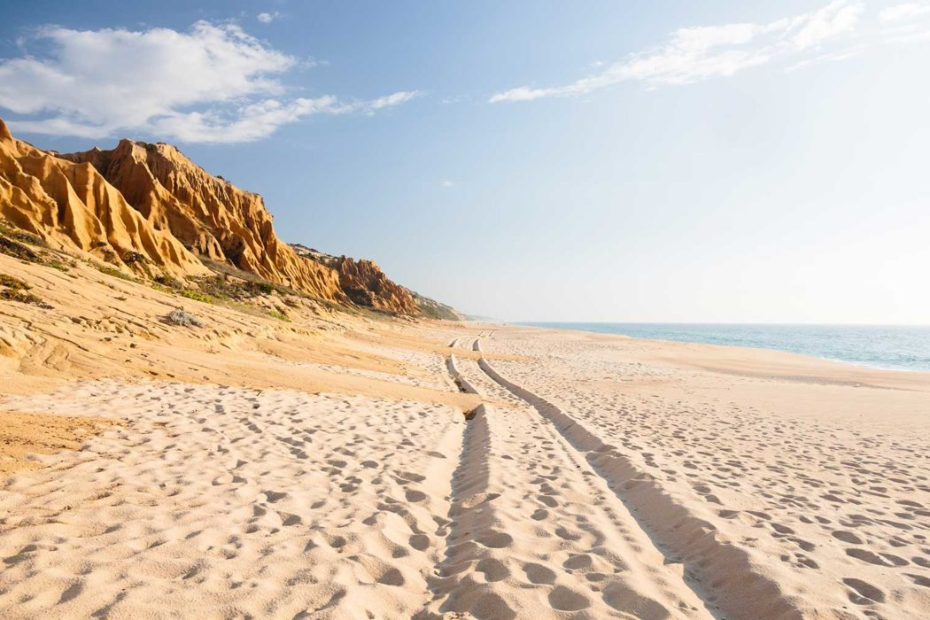 Photo of Portuguese beaches highlighted on international travel site