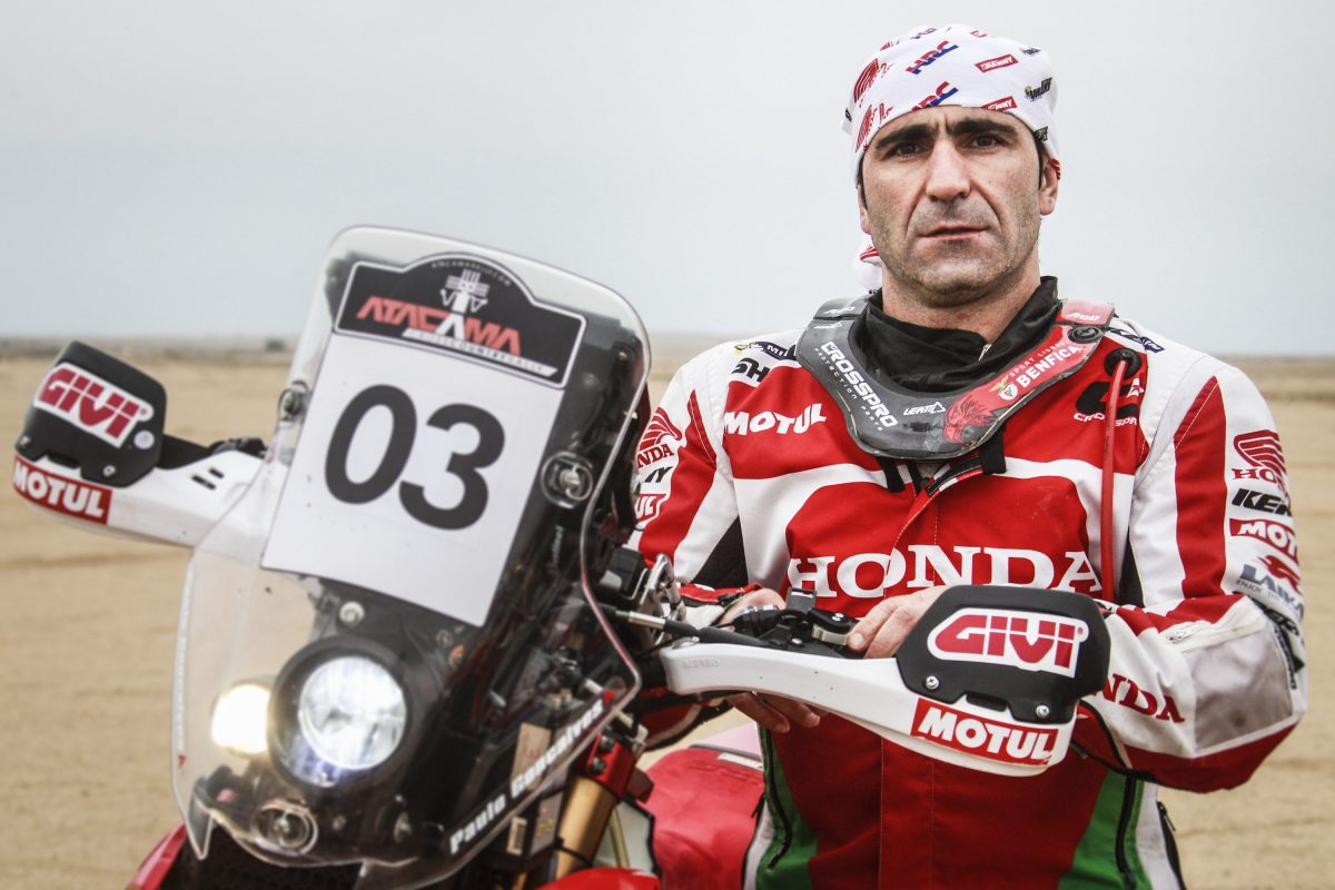 Photo of Paulo Gonçalves is the best Portuguese at the start of the Dakar