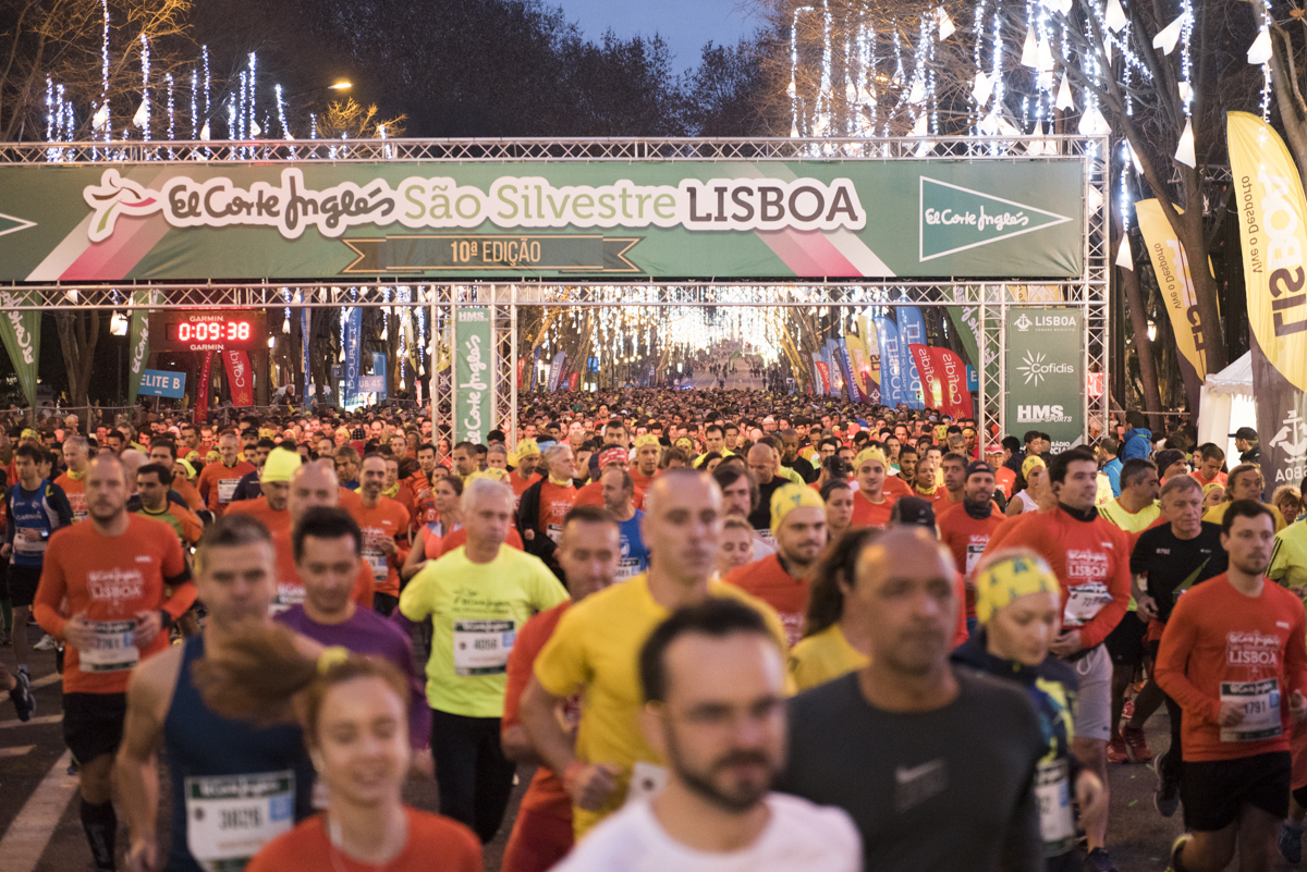 Photo of São Silvestre in Lisbon was the race with the most finalists in 2018