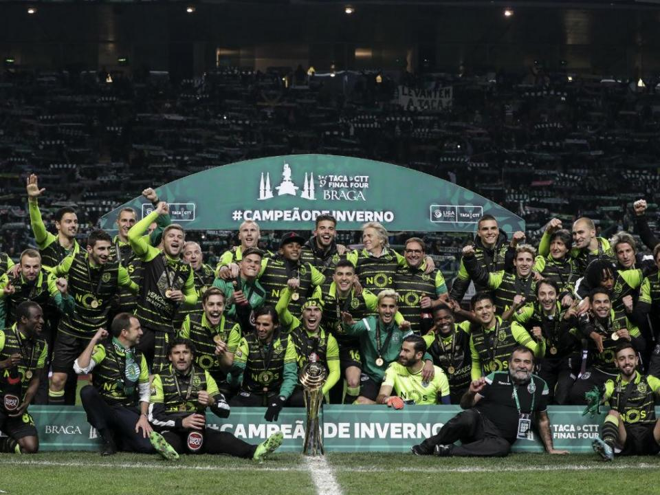 Photo of End of nerves and … Sporting returns to be champion of winter
