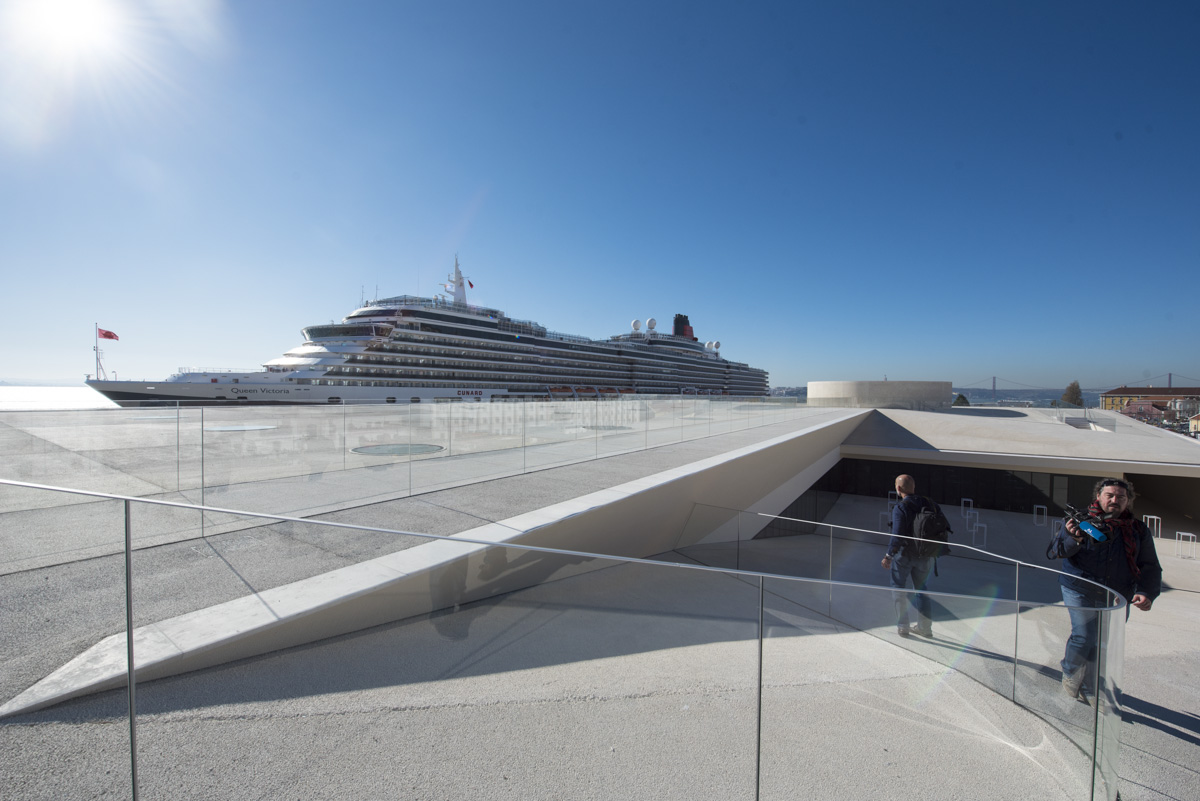 Photo of Lisbon Cruise Terminal finalist of an architectural award