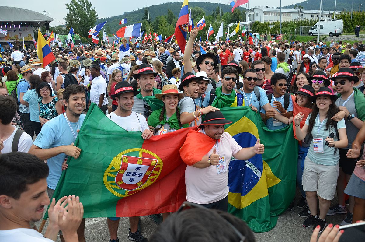 "Photo of ""An uncontained joy."" Portugal receives World Youth Days"