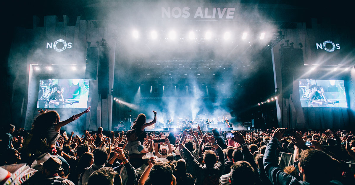 Photo of Alegro Alfragide gives you a ride to NOS Alive
