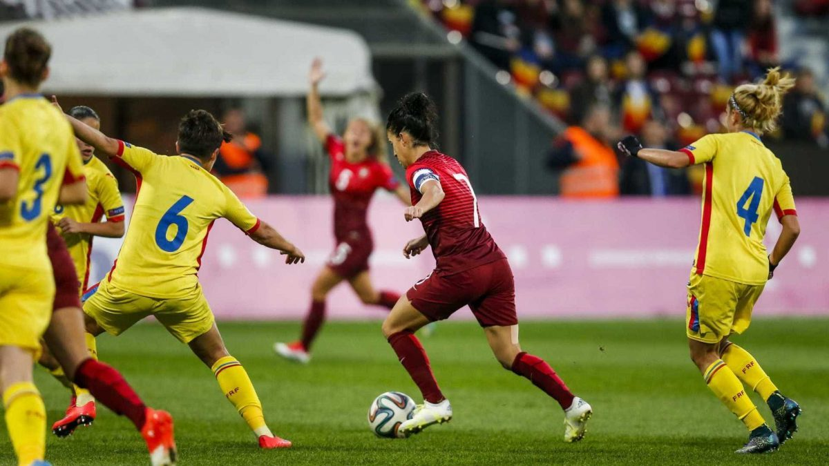 Photo of Jéssica Silva and Tatiana Pinto give voice to Portuguese ambition against Ukraine