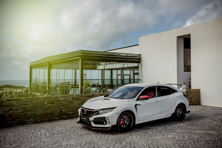 Photo of Honda Civic Type R version Tiago Monteiro is sold out