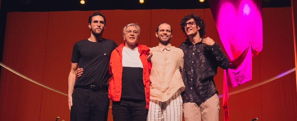 Photo of Caetano Veloso and his sons announce new concerts in Portugal