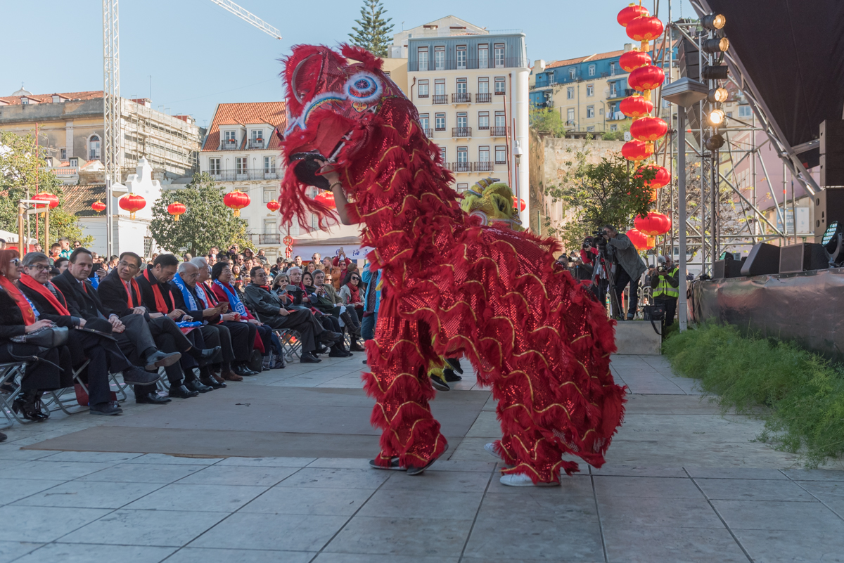 Photo of More than 2 thousand people participate in the celebration of the Chinese Year in Lisbon
