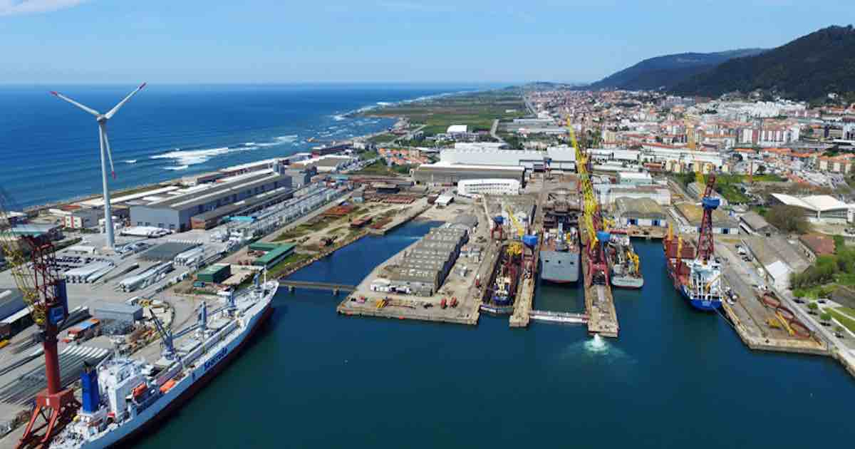 "Photo of Shipyards of Viana ""once again a world reference"" in the naval industry"