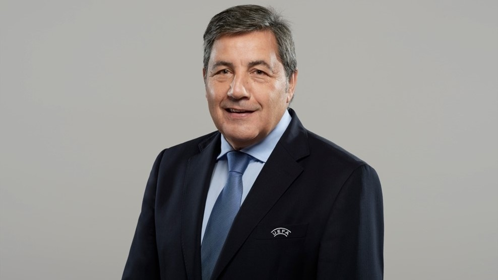 Photo of Fernando Gomes re-elected to the UEFA Executive Committee