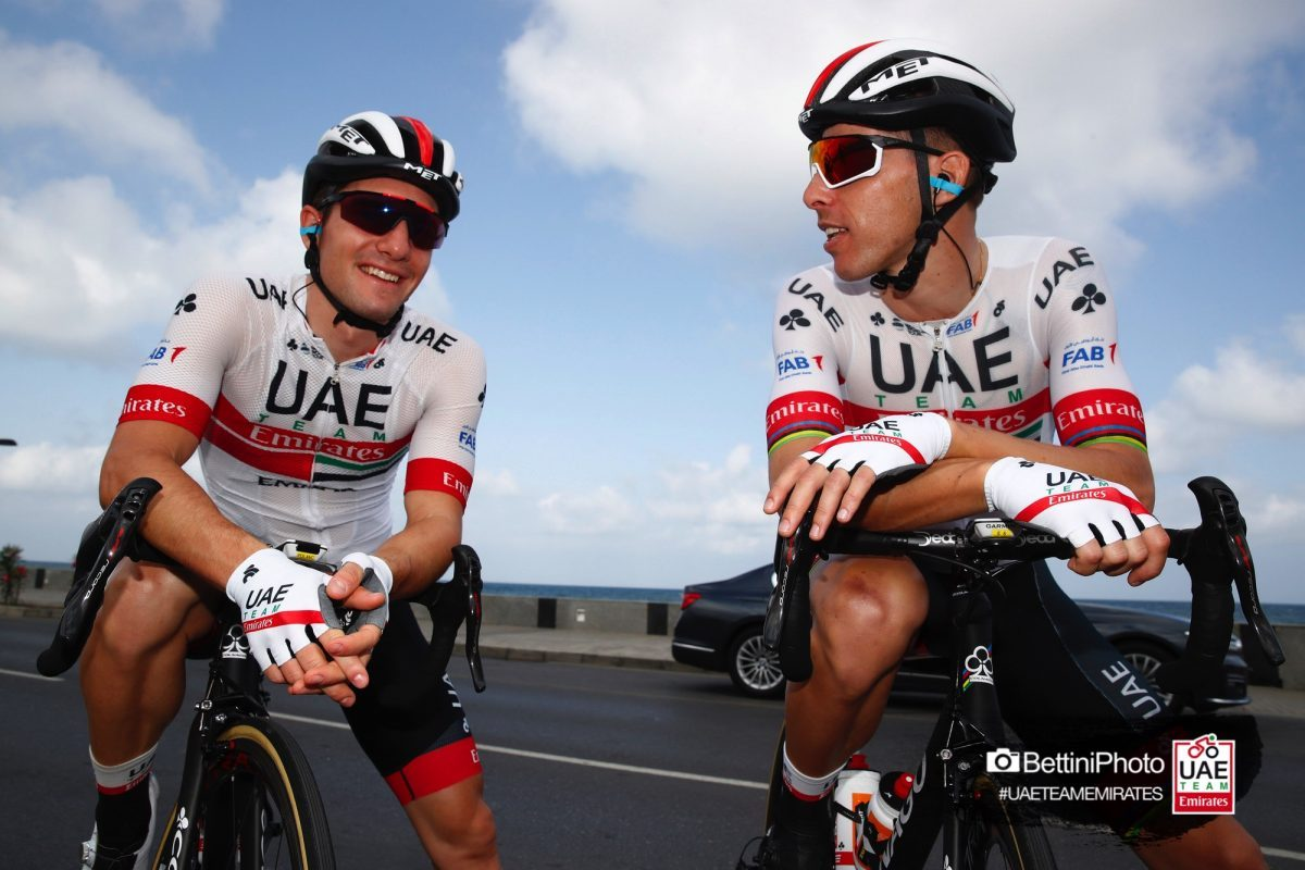 Photo of Rui Costa and Ivo Oliveira among the chosen for the UAE Emirates