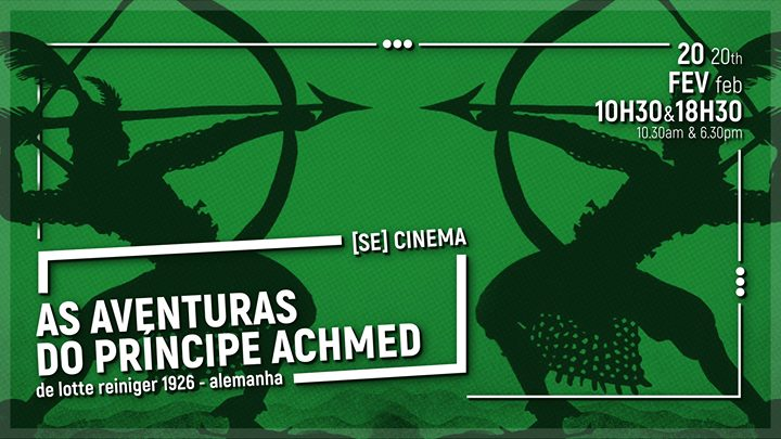 Photo of 20 FEV. | Movie-concert: The Adventures of Prince Achmed